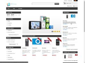 Diseño de Página web en Málaga para empresa de accesorios de Baños