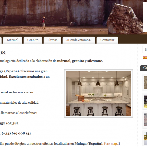 Diseño de Página web Málaga para empresa